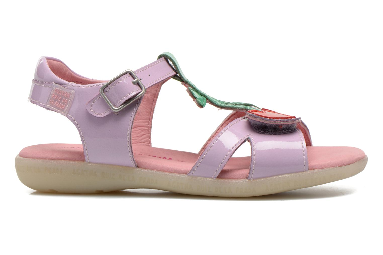 Sandales et nu-pieds Agatha Ruiz de la Prada Cereza Violet vue derrière
