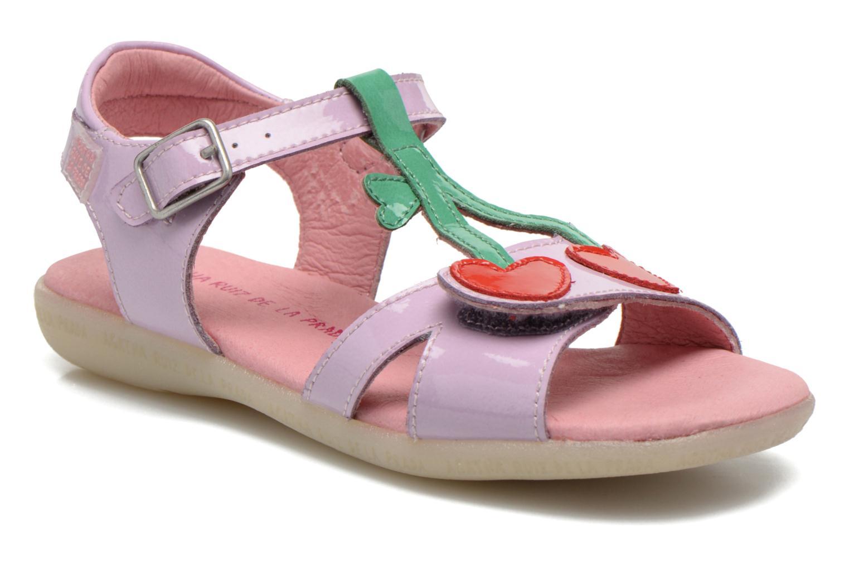 Sandales et nu-pieds Agatha Ruiz de la Prada Cereza Violet vue détail/paire