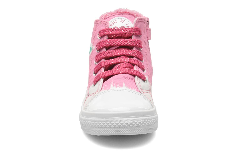 Sneaker Agatha Ruiz de la Prada Delfina rosa schuhe getragen