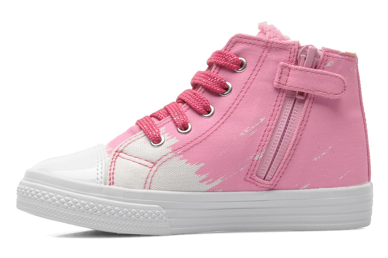 Sneaker Agatha Ruiz de la Prada Delfina rosa ansicht von vorne