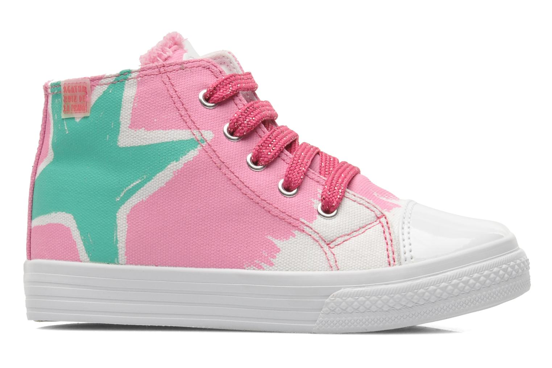 Sneaker Agatha Ruiz de la Prada Delfina rosa ansicht von hinten