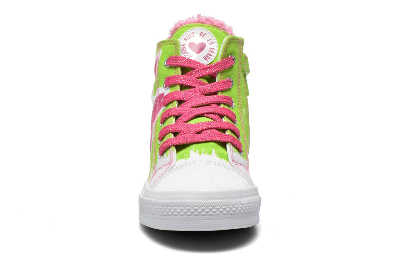 Sneakers Agatha Ruiz de la Prada Delfina Grøn se skoene på