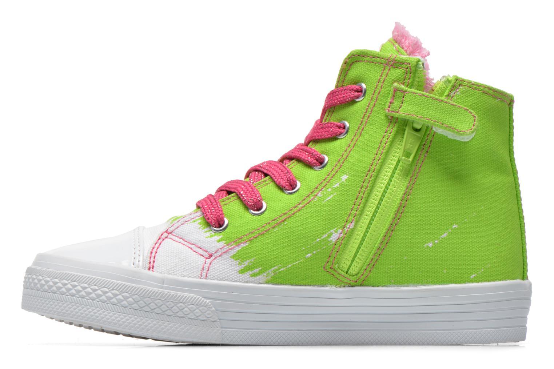 Sneaker Agatha Ruiz de la Prada Delfina grün ansicht von vorne