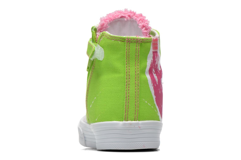 Sneaker Agatha Ruiz de la Prada Delfina grün ansicht von rechts
