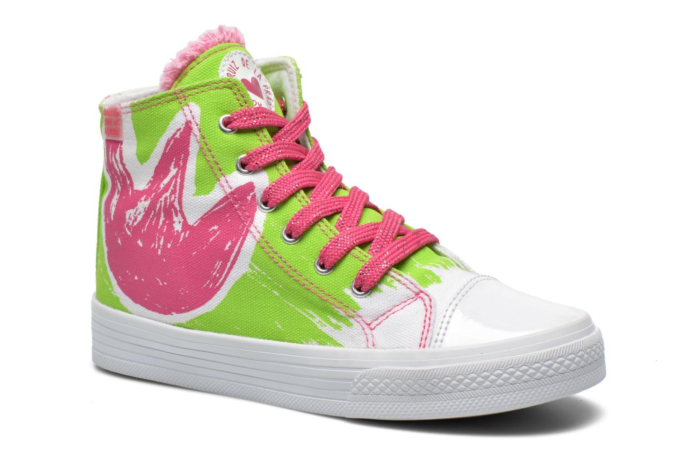 Sneakers Agatha Ruiz de la Prada Delfina Grøn detaljeret billede af skoene