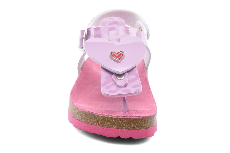 Sandales et nu-pieds Agatha Ruiz de la Prada Dilcia Violet vue portées chaussures