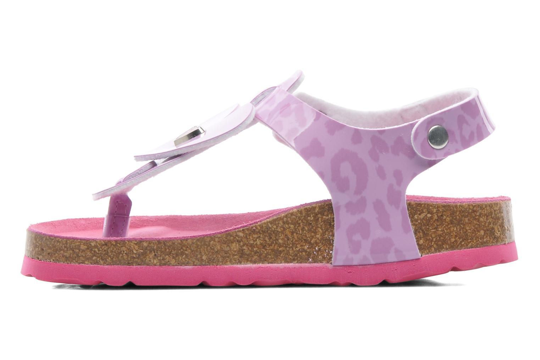 Sandals Agatha Ruiz de la Prada Dilcia Purple front view
