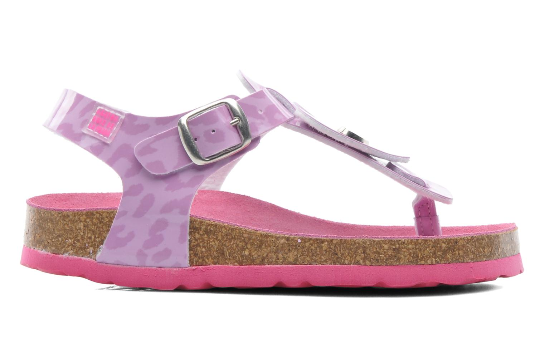 Sandales et nu-pieds Agatha Ruiz de la Prada Dilcia Violet vue derrière