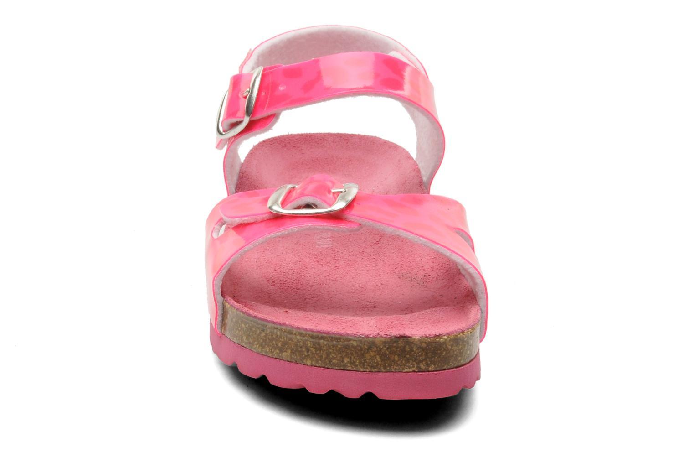 Sandales et nu-pieds Agatha Ruiz de la Prada Dominica Rose vue portées chaussures