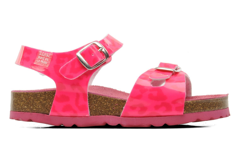 Sandalen Agatha Ruiz de la Prada Dominica rosa ansicht von hinten