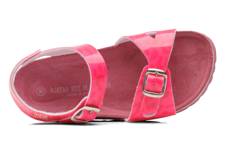 Sandales et nu-pieds Agatha Ruiz de la Prada Dominica Rose vue gauche