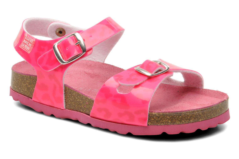 Sandales et nu-pieds Agatha Ruiz de la Prada Dominica Rose vue détail/paire