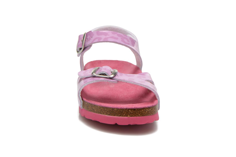 Sandalen Agatha Ruiz de la Prada Dominica lila schuhe getragen
