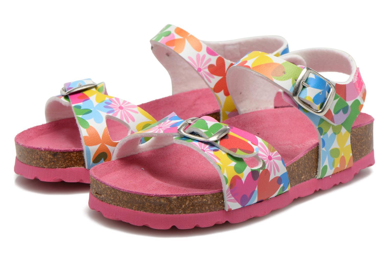 Sandales et nu-pieds Agatha Ruiz de la Prada Dominica Multicolore vue 3/4