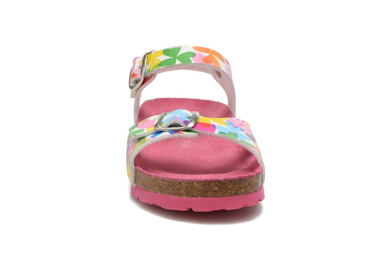 Sandales et nu-pieds Agatha Ruiz de la Prada Dominica Multicolore vue portées chaussures
