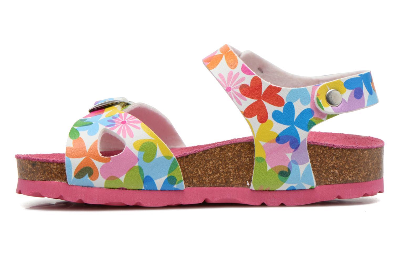 Sandales et nu-pieds Agatha Ruiz de la Prada Dominica Multicolore vue face