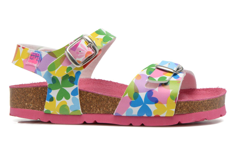 Sandales et nu-pieds Agatha Ruiz de la Prada Dominica Multicolore vue derrière