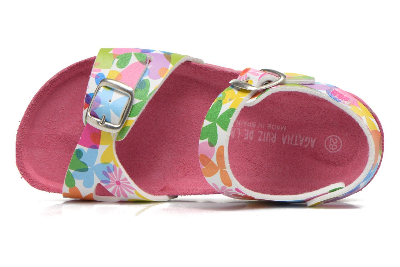 Sandales et nu-pieds Agatha Ruiz de la Prada Dominica Multicolore vue gauche