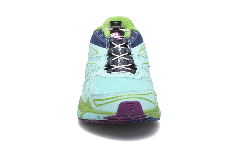 Chaussures de sport Salomon X-Scream 3D W Bleu vue portées chaussures