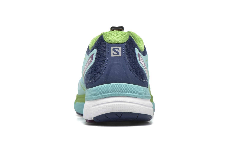 Chaussures de sport Salomon X-Scream 3D W Bleu vue droite