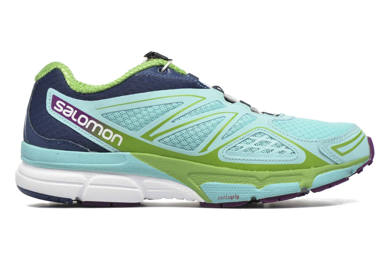 Chaussures de sport Salomon X-Scream 3D W Bleu vue derrière