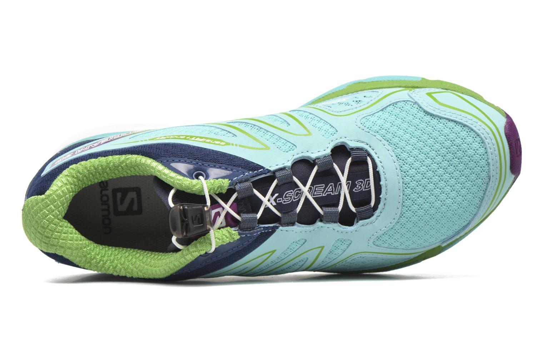 Chaussures de sport Salomon X-Scream 3D W Bleu vue gauche