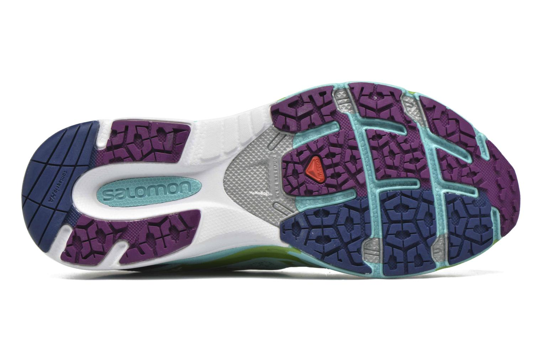 Chaussures de sport Salomon X-Scream 3D W Bleu vue haut