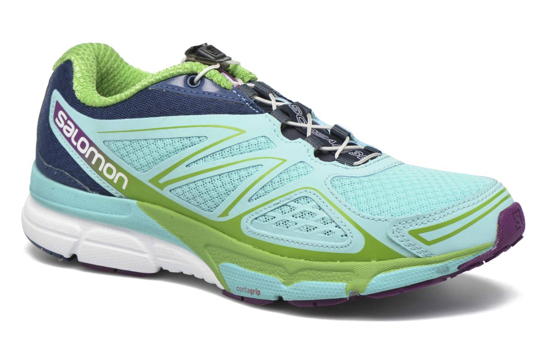 Chaussures de sport Salomon X-Scream 3D W Bleu vue détail/paire