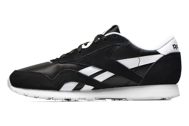 Sneaker Reebok Classic Nylon schwarz ansicht von vorne