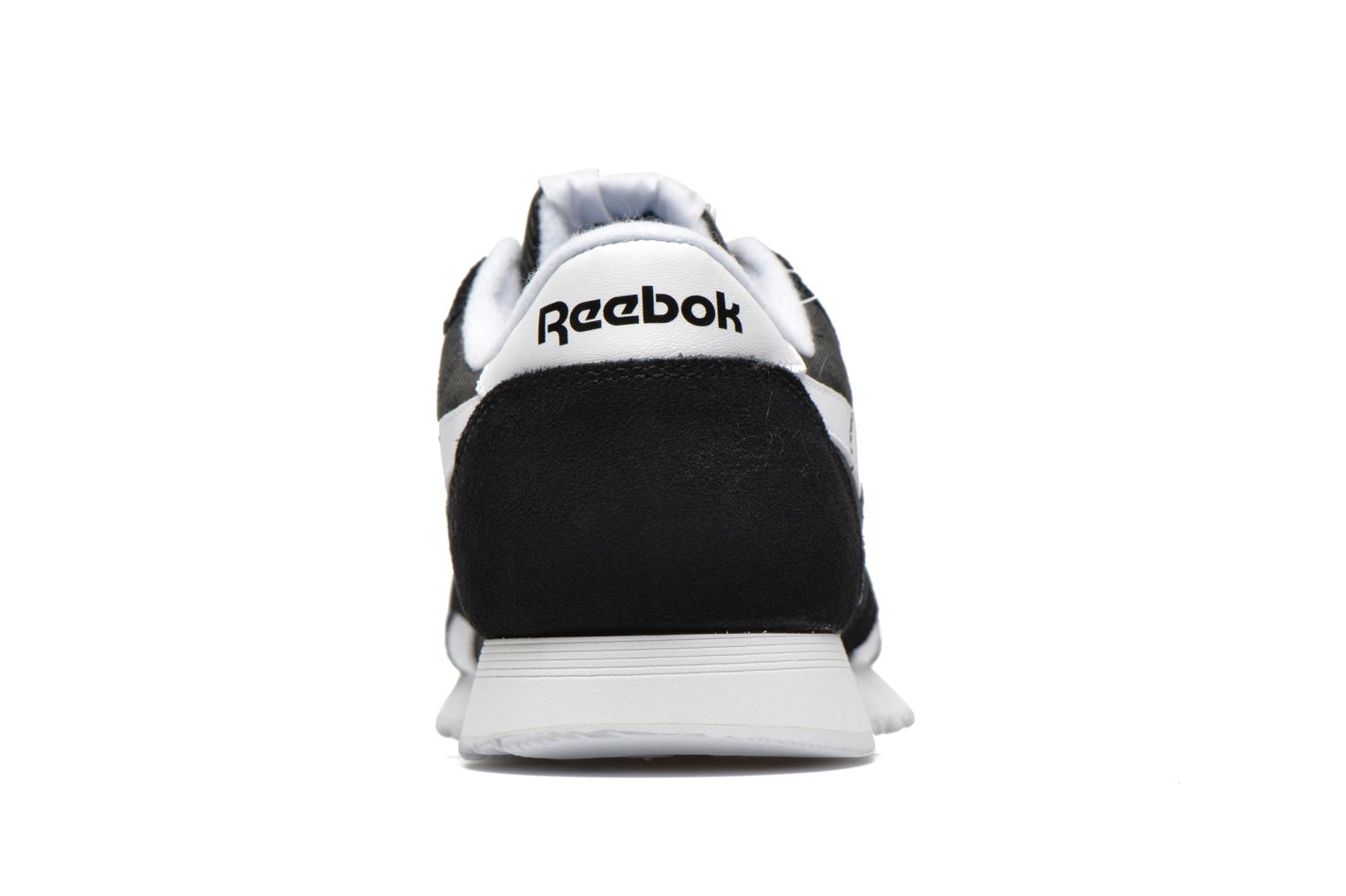 Trainers Reebok Classic Nylon Black view from the right
