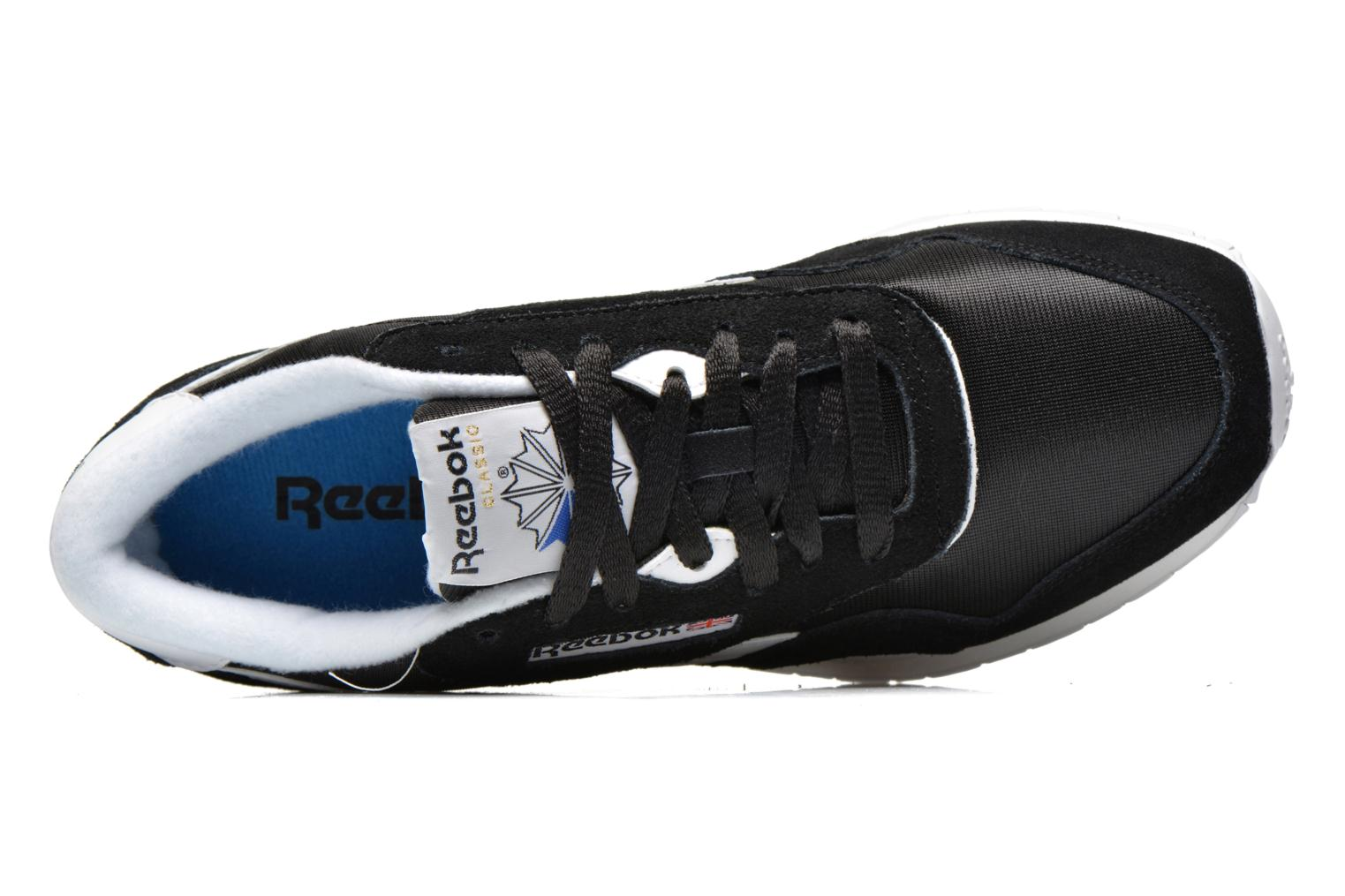 Trainers Reebok Classic Nylon Black view from the left