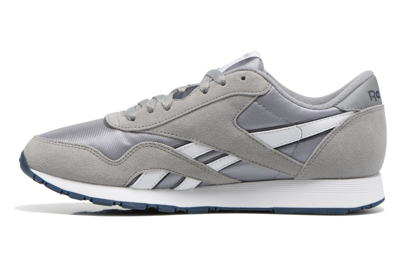 Sneaker Reebok Classic Nylon grau ansicht von vorne