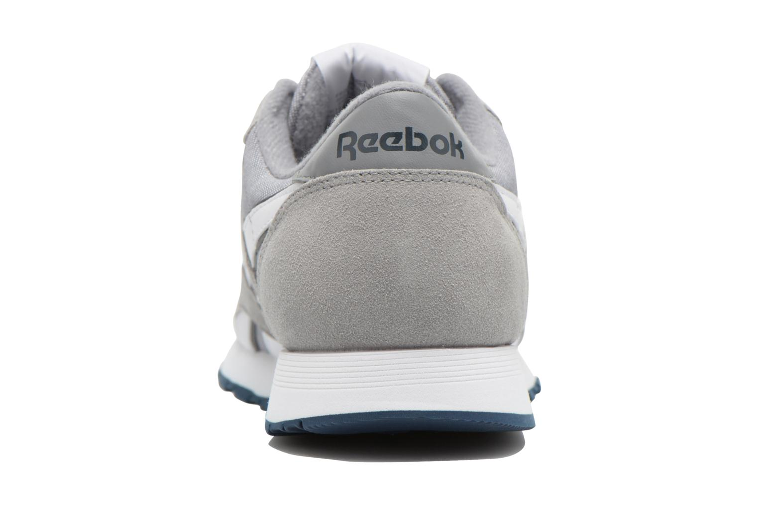 Trainers Reebok Classic Nylon Grey view from the right