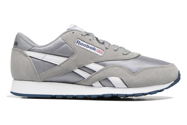 Sneaker Reebok Classic Nylon grau ansicht von hinten
