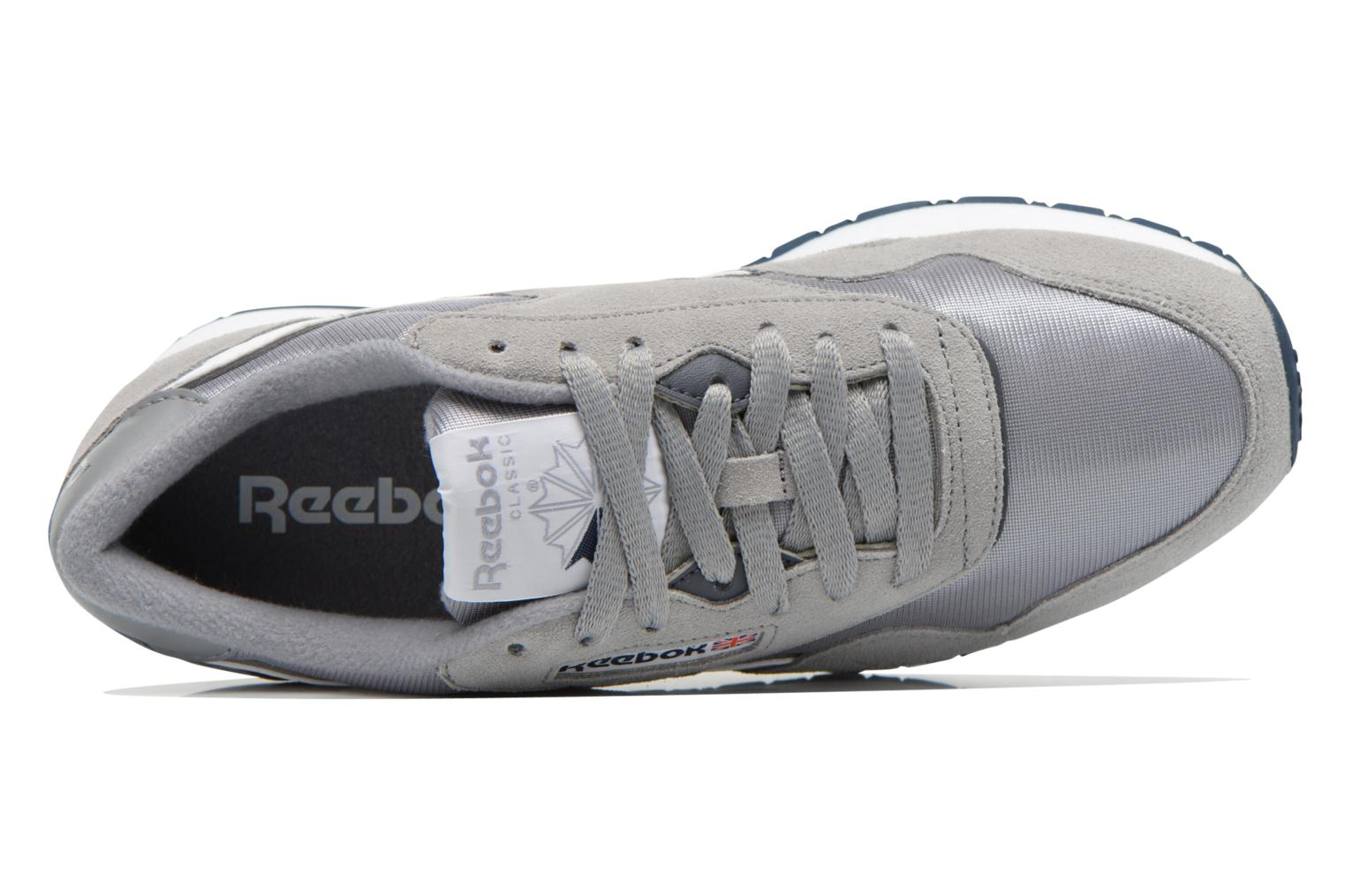 Trainers Reebok Classic Nylon Grey view from the left