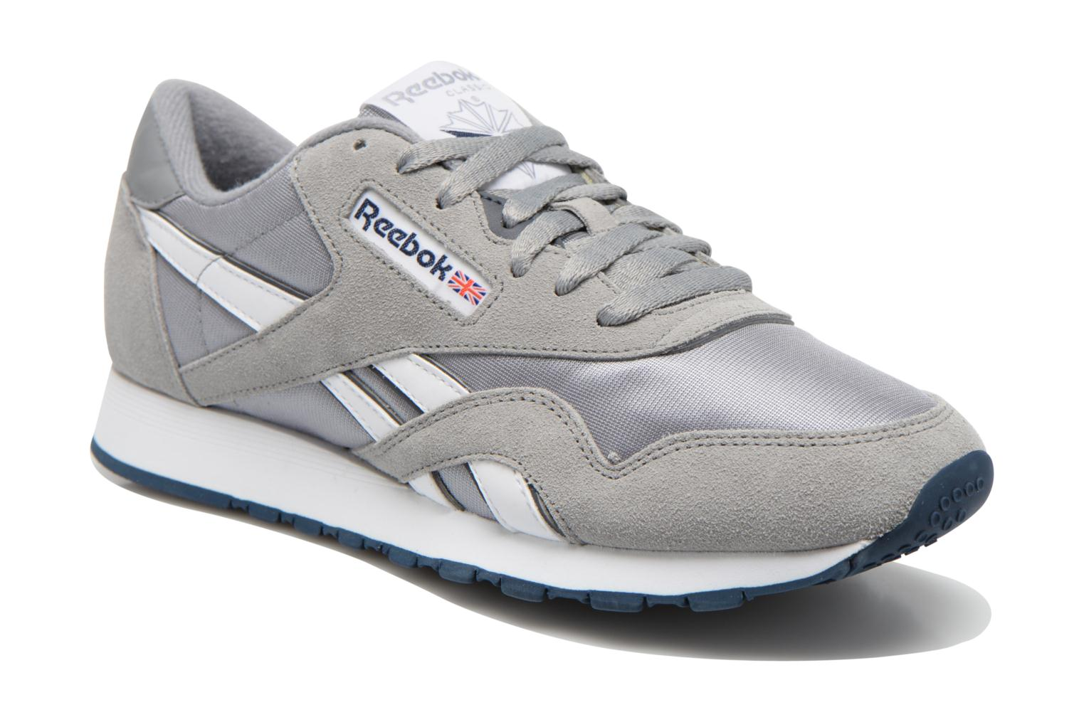 Trainers Reebok Classic Nylon Grey detailed view/ Pair view