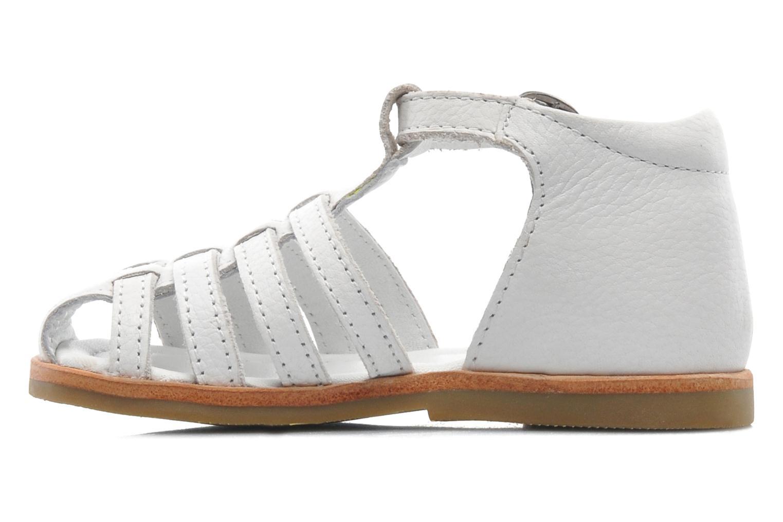 Sandales et nu-pieds Mod8 Arcade Blanc vue face