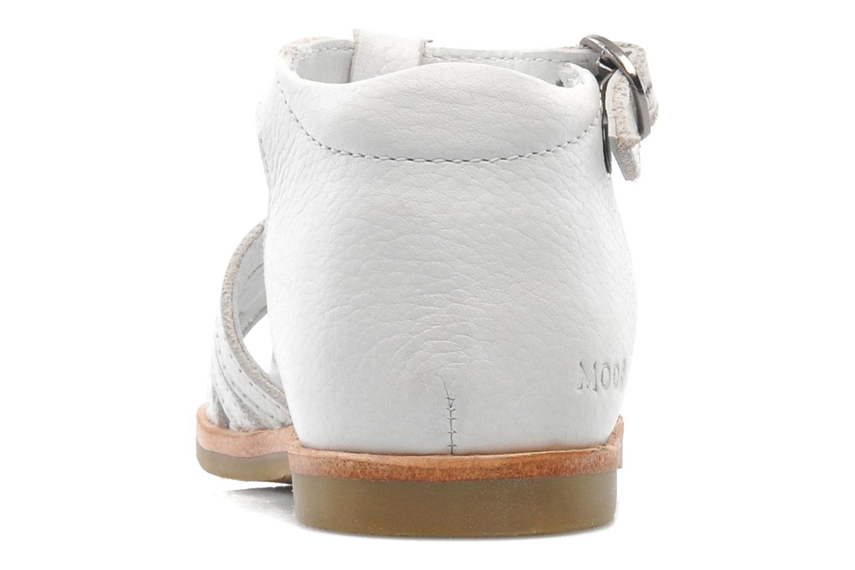 Sandales et nu-pieds Mod8 Arcade Blanc vue droite