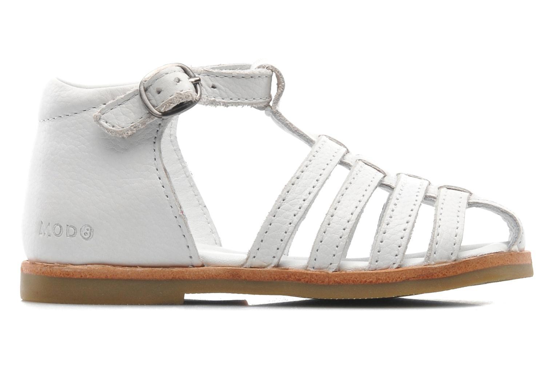 Sandales et nu-pieds Mod8 Arcade Blanc vue derrière