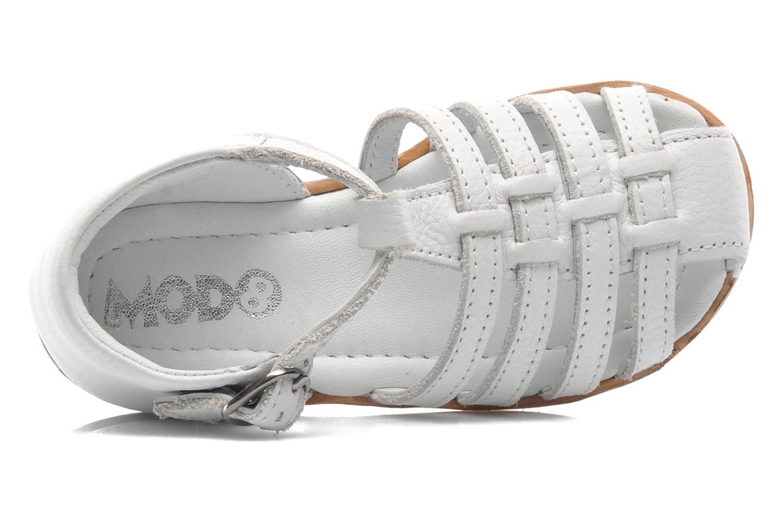 Sandales et nu-pieds Mod8 Arcade Blanc vue gauche
