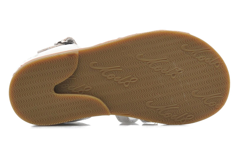 Sandales et nu-pieds Mod8 Arcade Blanc vue haut