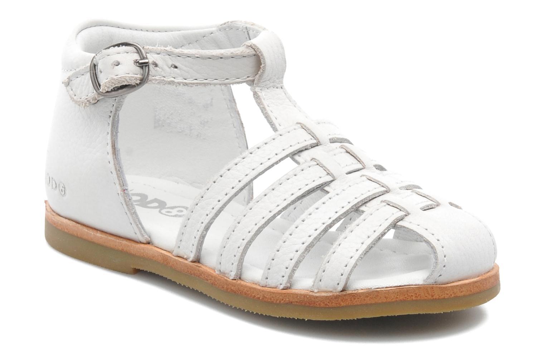 Sandales et nu-pieds Mod8 Arcade Blanc vue détail/paire