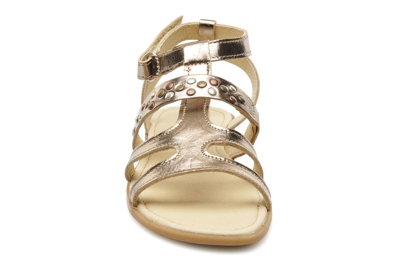 Sandales et nu-pieds Mod8 JADE Argent vue portées chaussures