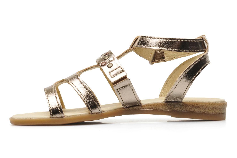 Sandales et nu-pieds Mod8 JADE Argent vue face