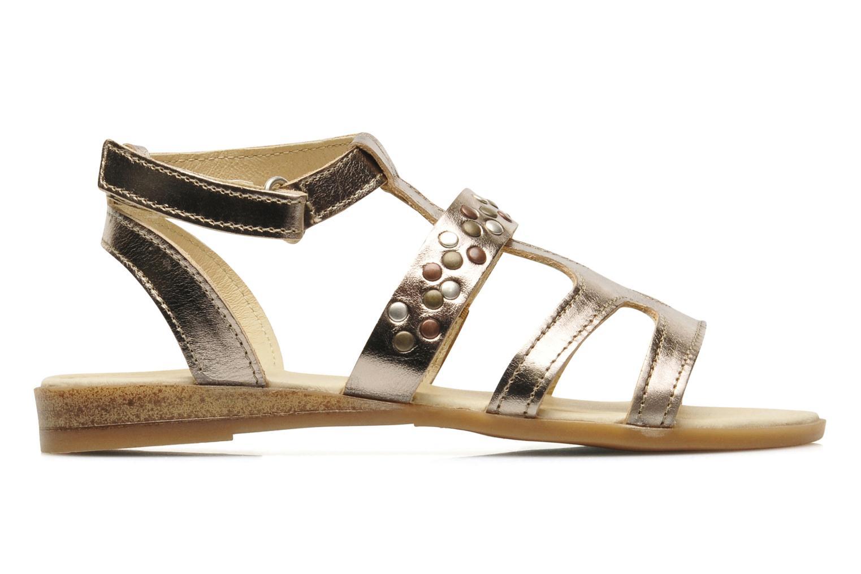 Sandales et nu-pieds Mod8 JADE Argent vue derrière