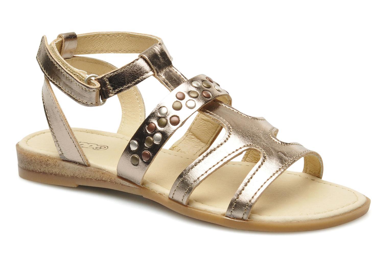 Sandales et nu-pieds Mod8 JADE Argent vue détail/paire