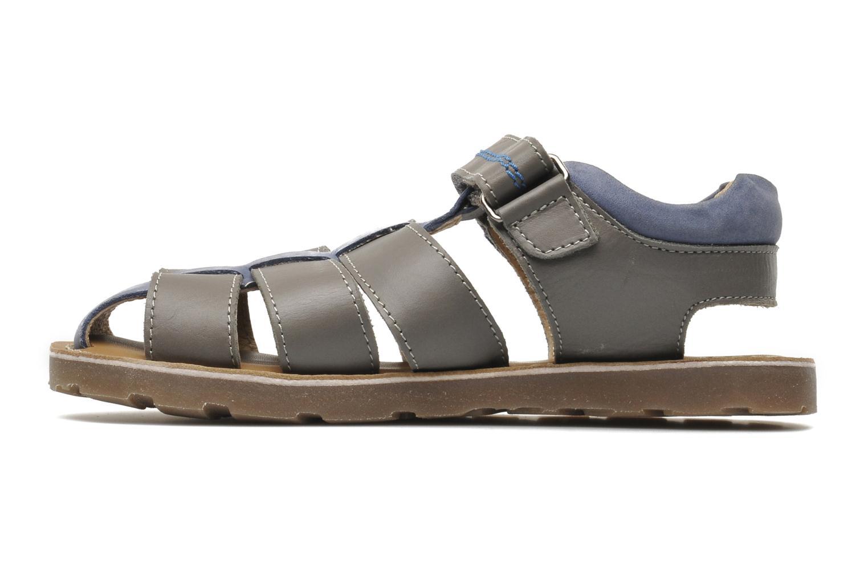 Sandales et nu-pieds Mod8 RODRIGO Gris vue face