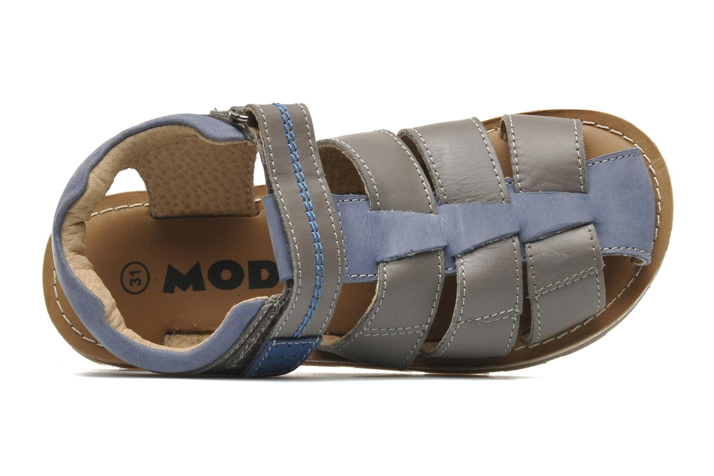 Sandales et nu-pieds Mod8 RODRIGO Gris vue gauche