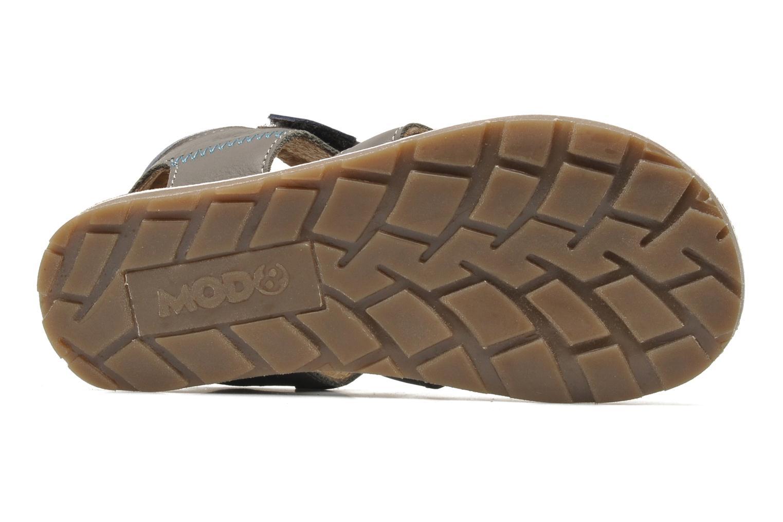 Sandales et nu-pieds Mod8 RODRIGO Gris vue haut