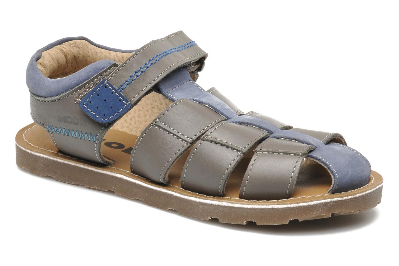 Sandales et nu-pieds Mod8 RODRIGO Gris vue détail/paire